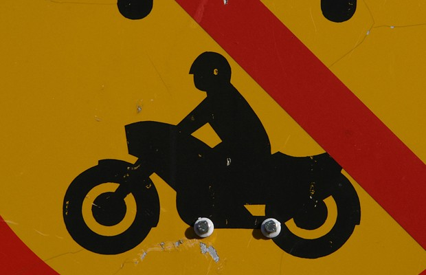 Motorcycle, pickup collide in Cass County