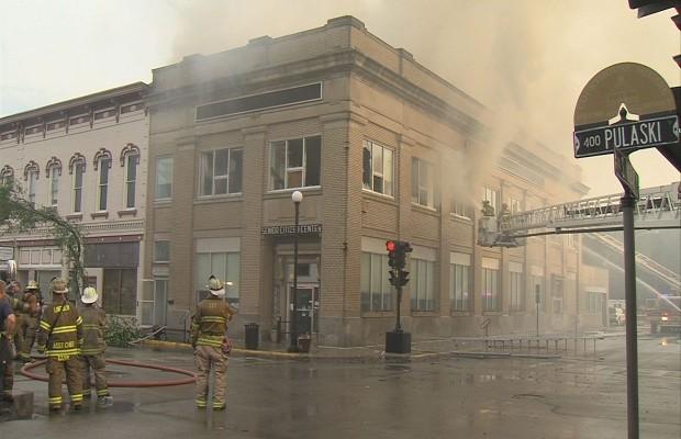 Fire Damages Lincoln Senior Center