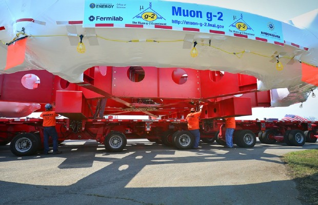50 Foot Wide Electro-Magnet Completes 3,200 Mile Journey to Illinois