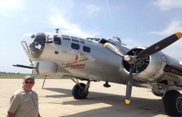 B-17 Bomber Lands in Springfield