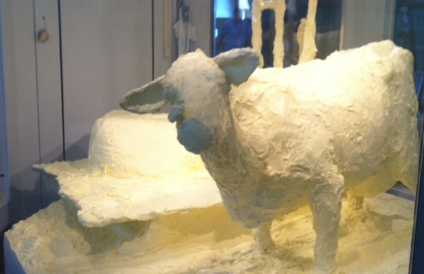 The Butter Cow is Back at the Illinois State Fair