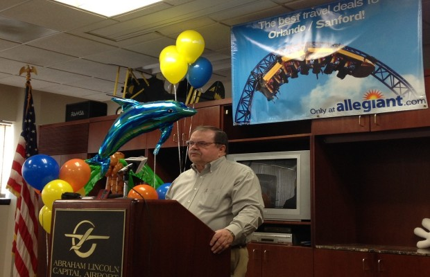 New Springfield to Orlando Air Service Starts in November