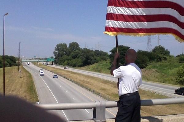 9-11: One Man, One Flag