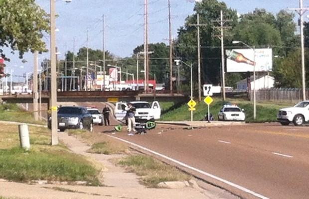 Stevenson Drive Shut Down due to Motorcycle Crash
