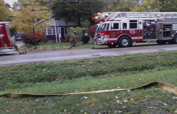 Blaze Heavily Damages Southern View Home