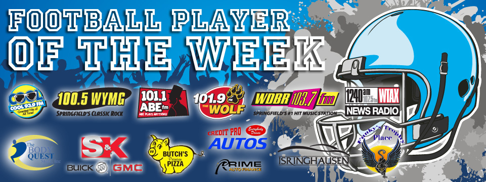 fball Player of the week banner