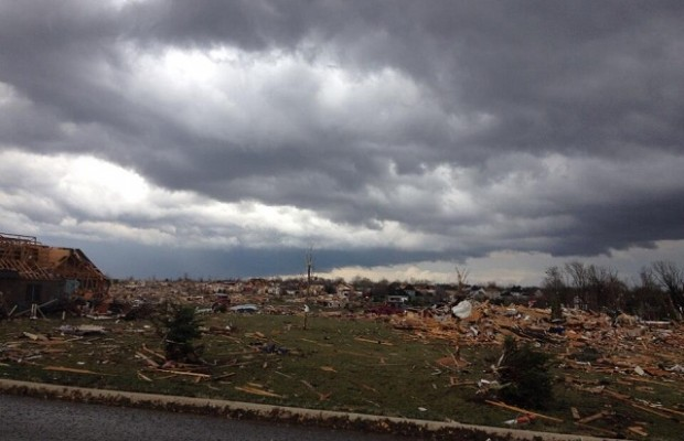 Six Illinois Deaths from E-F4 Tornadoes