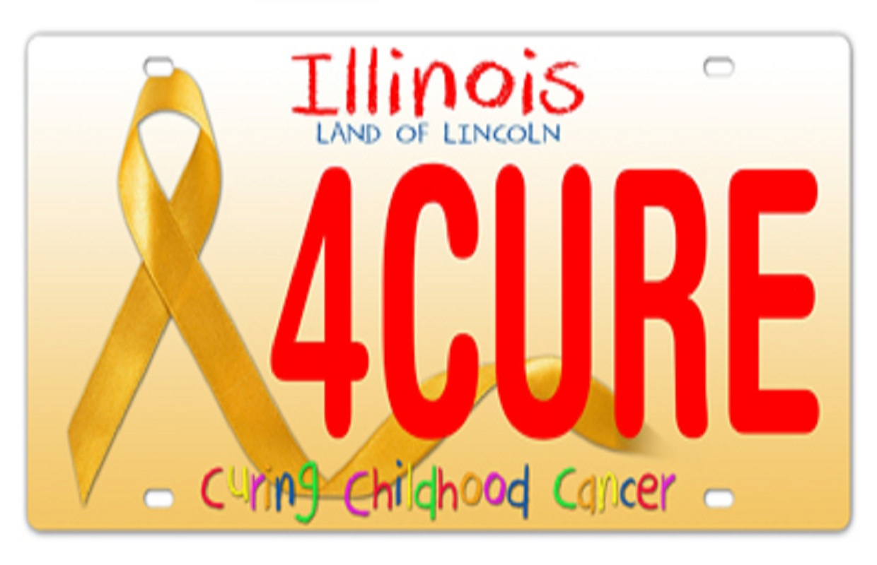 License Plate to Benefit Childhood Cancer Research