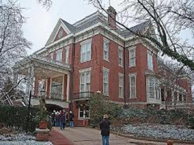 Executive Mansion Roof Repairs Begin