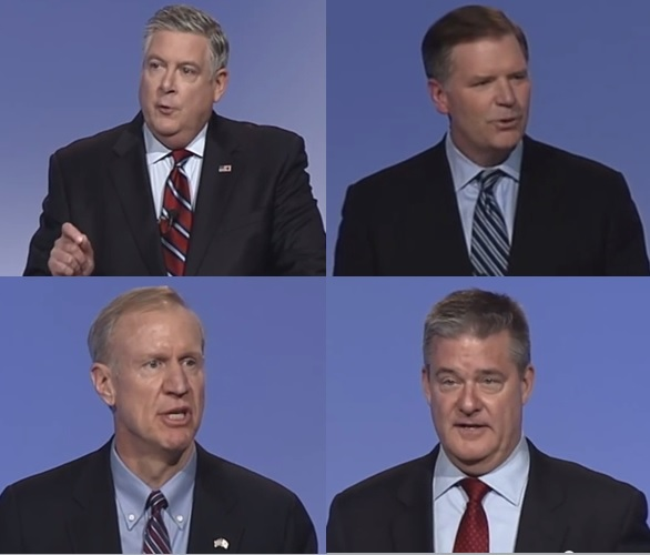 GOP Gubernatorial Candidates Sound Off on Assault Weapons Debate
