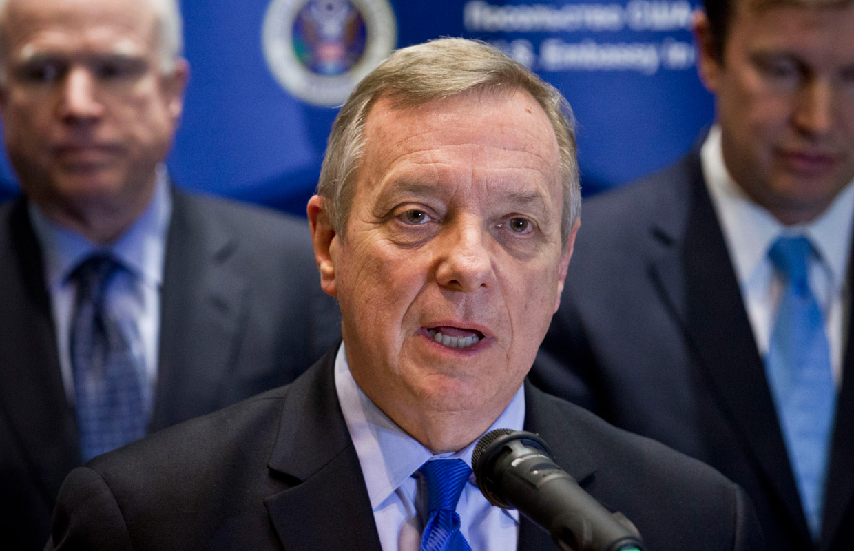 Durbin: Illinois GOP Hits New Low With Phony Press Release