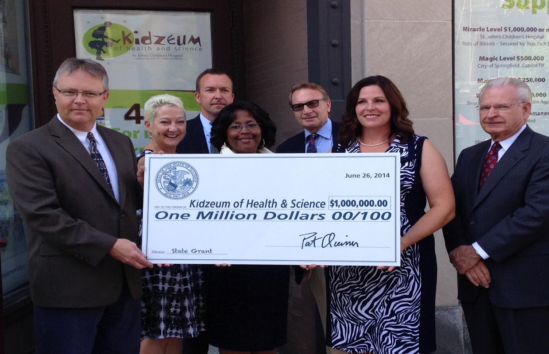 $1.675 Million to Springfield's Kidzeum
