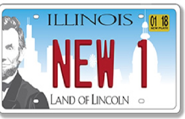 Chicago Plate Stickers New Car